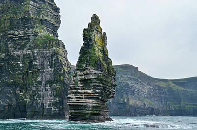 Photograph - Cliffs Of Moher Sea Stack by Joe Ormonde