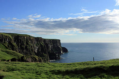 Photograph - Cliffs Of Moher, The Burren, Ireland by Aidan Moran