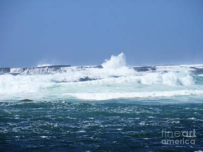 Photograph - Cliffs Of The Aran Islands 2 by Crystal Rosene