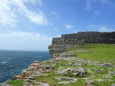 Photograph - Cliffs Of The Aran Islands 3 by Crystal Rosene