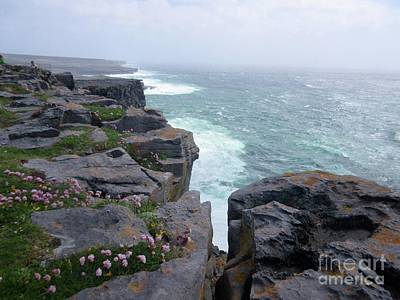 Photograph - Cliffs Of The Aran Islands 4 by Crystal Rosene