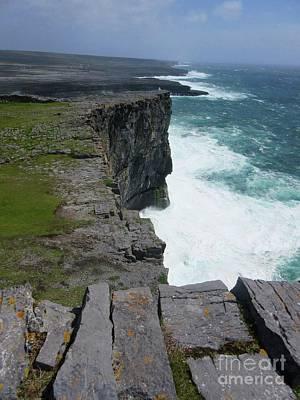 Photograph - Cliffs Of The Aran Islands 5 by Crystal Rosene
