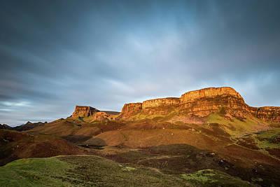 Cliffs Of Trotternish Print by Davorin Mance