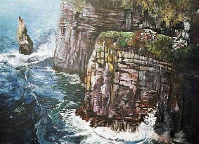 Cliffs  Art Print