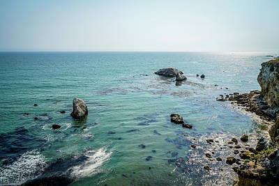Pacific Ocean Photograph - Cliffs by Ric Schafer