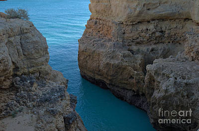 Cliffs Water Passage Art Print