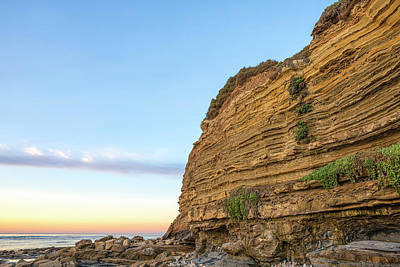 Photograph - Cliffside Sunset by Joseph S Giacalone