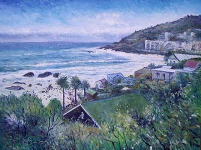 Clifton Beach  Cape Town South Africa 2006  Art Print by Enver Larney