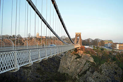 Bristol Photograph - Clifton Bridge by Bishopston Fine Art