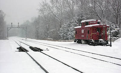 Photograph - Clifton Snow by Art Cole