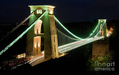 Photograph - Clifton Suspenion Bridge by Colin Rayner