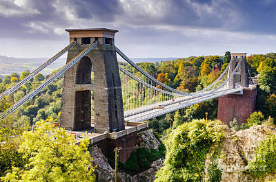 Photograph - Clifton Suspension Bridge by Colin Rayner