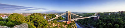 Photograph - Clifton Suspension Bridge by Stewart Scott