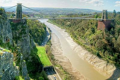 Photograph - Clifton Suspension Bridge Uk by David Birchall