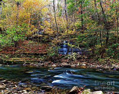 Photograph - Clifty Creek Falls by Paul Mashburn