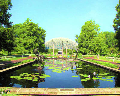 Photograph - Climatron - Missouri Botanical Garden by John Freidenberg