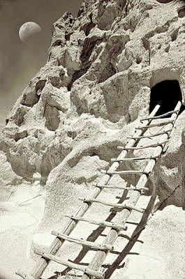 Photograph - Climb To The Pueblo Cave by Diana Angstadt