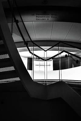 Photograph - Climbing A Stairwell At The Overture Center by Jeanette Fellows