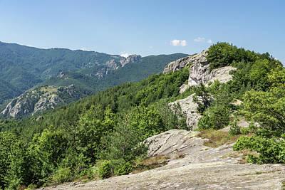 Photograph - Climbing Mountains Is Its Own Reward - Approaching A Craggy Summit by Georgia Mizuleva