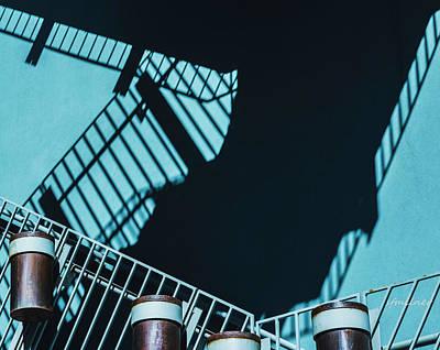 Photograph - Climbing Shadows by Steven Milner