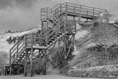 Photograph - Climbing The Dunes by Cathy Kovarik