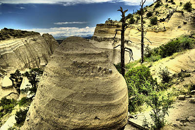 Photograph - Climbing The Tent Rocks by Jeff Swan