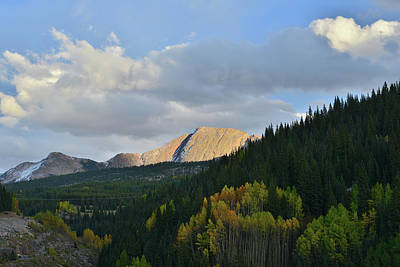 Photograph - Climbing To Molas Pass by Ray Mathis
