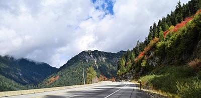 Photograph - Climbing To Stevens Pass by Tom Cochran