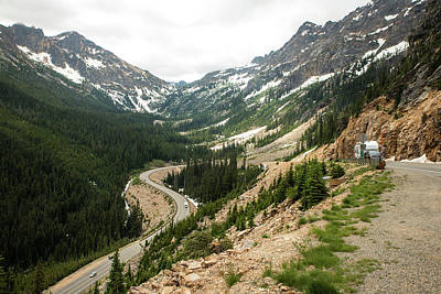 Photograph - Climbing Washington Pass by Tom Cochran