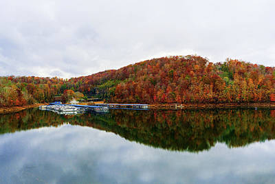 Photograph - Clinch River In The Fall by Sharon Popek
