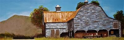 Painting - Cline Barn by Jim Harris