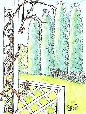 Clinging Vine Art Print by George I Perez