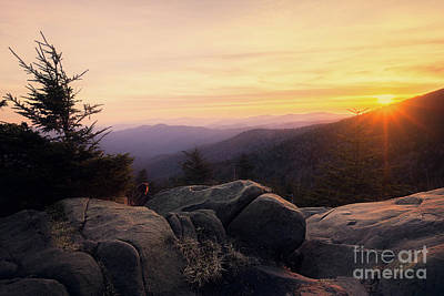 Princess Diana - Clingmans Dome Sunset by Todd Bielby