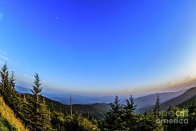 Photograph - Clingmans Dome Sunset II by Gene Berkenbile