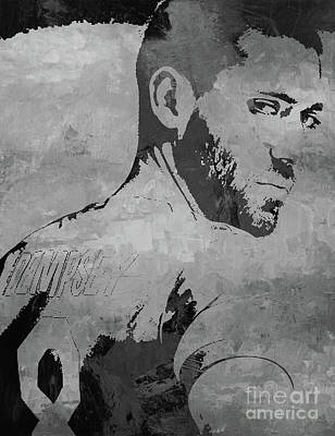 Painting - Clint Dempsey Soccer Player by Gull G