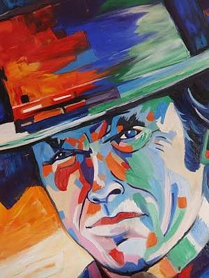 Gustavo Oliveira Painting - Clint Eastwood by Gustavo Oliveira