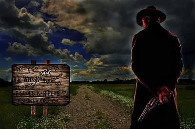 Storm Digital Art - Clint Eastwood Unforgiven by Movie Poster Prints