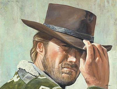 Clint Tipping His Brim Original