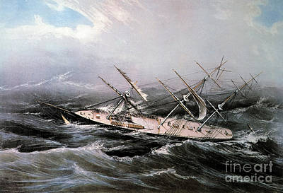 Clipper Ship Comet, 1855 Art Print by Granger