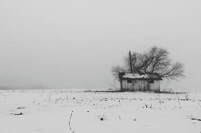 Photograph - Cloaked By The Fog by Jose Vazquez