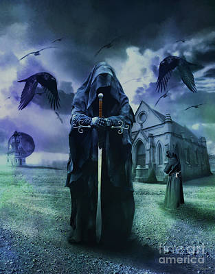 Cloaked In Mystery Art Print