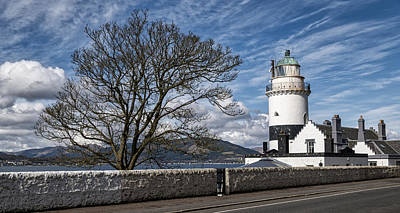 Photograph - Cloch Lighthouse At Gourock, Inverclyde In Scotland by Jeremy Lavender Photography