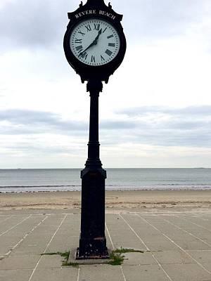 Photograph - Clock 101 by Caroline Stella