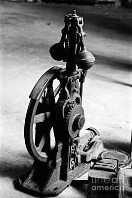 Photograph - Clock Gear by Phil Cappiali Jr