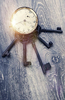Clock Is Ticking Art Print by Svetlana Sewell