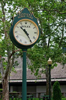 Photograph - Clock by Jill Lang