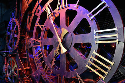 Photograph - Clock Movement by David Lee Thompson