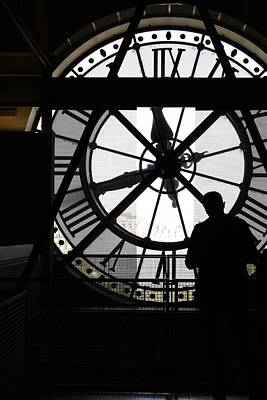 Photograph - Clock Musee D'orsay by Mary-Lee Sanders