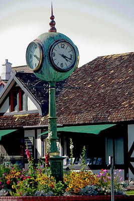 Photograph - Clock Of Solvang by Ivete Basso Photography