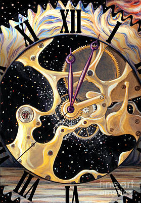 Painting - Clock Of Universe by Stoyanka Ivanova